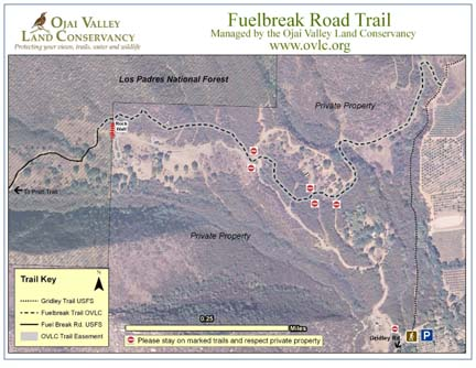 New Fuelbreak Trail Map