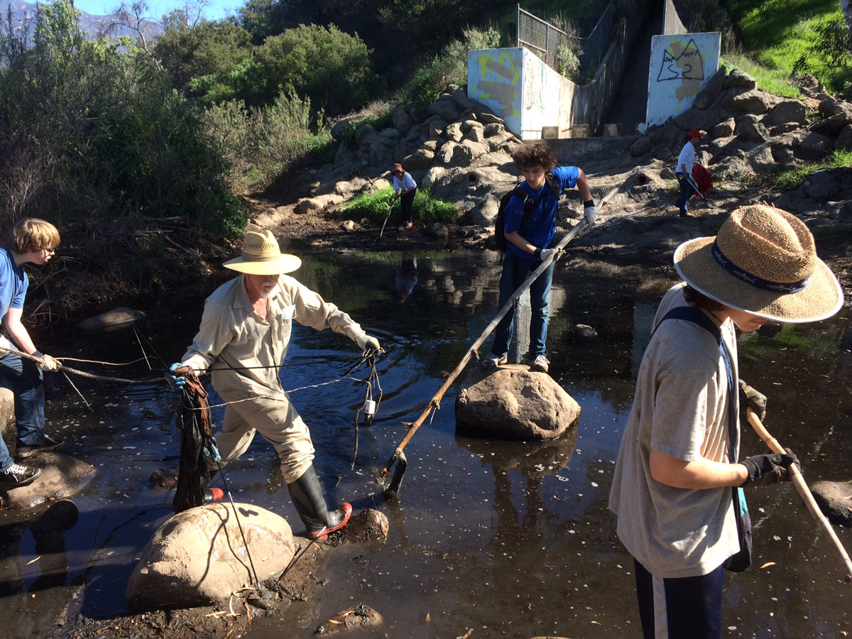 Ventura River Clean-Up
